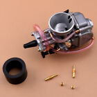 Flat Slide Carburetor Carb fit for PWK 28mm Motorcycle ATV Scooter 50cc Acc