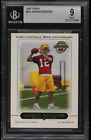 2005 Topps Football Aaron Rodgers ROOKIE RC #431 BGS 9 MINT