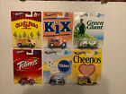 2013 HOT WHEELS GENERAL MILLS POP CULTURE COMPLETE SET OF 6 Real Riders Nice