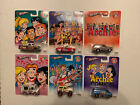 Hot Wheels Archie Comics Complete Set Of 6 Pop culture 2013 HTF Nice