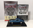 Kyosho 1 64 USA SPORTS CAR Ford Mustang Boss 302 Diecast Car Model Black Blue