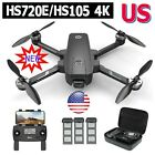Holy Stone 4K Drone with UHD EIS Camera HS720E HS105 GPS RC Quadcopter 3 Battery