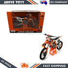 Maisto Model Big Size Red Bull 2018 KTM 450 SX F Factory 84 J Herling Scale 16
