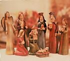 Tii Collections Handcrafted Resin Nativity Set of 8