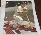 Stan Musial picture from last game Sept 23 1963 & stamped autograph