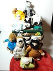 Plush Nativity Set The Christmas Story 12 Pc Stuffed Animals and Figures Boxed