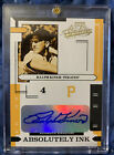 RALPH KINER 2004 PLAYOFF ABSOLUTE ABSOLUTELY INK AUTOGRAPH AUTO #044 100