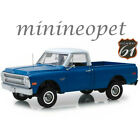 HIGHWAY 61 18011 1970 CHEVROLET C 10 PICK UP TRUCK with LIFT KIT 1 18 DARK BLUE