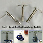 3Pcs Hydraulic Cylinder Piston Rod Seal U Cup Installation Tool For Ford HS