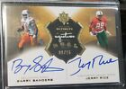 2013 Ultimate Collection Barry Sanders Jerry Rice Dual Signatures Auto
