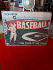Baseball Advertising Tin sign for Topps Trading Cards. Highly Collectible.