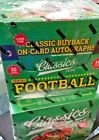 2016 Panini Classics Football Hobby Box Factory Sealed