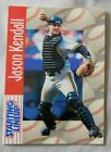1997 Starting Lineup Jason Kendall Pittsburgh Pirates Baseball Card