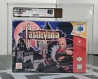 CASTLEVANIA N64 1999 NINTENDO 64 VGA GRADED SEALED NEW