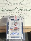 Troy Aikman Auto 2018 National Treasures Signatures Silver 25 Cowboys Football