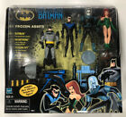 Batman The Animated Series Frozen Assets 4 Figure Set New In Box!