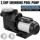 Hayward 25HP Swimming Pool Pump Self Priming Spa Above In Ground 1850w Motor