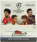 2019 20 Topps Finest UEFA Champions League Soccer *Sealed* Hobby Box