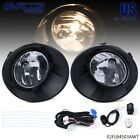 Clear Lens Front Fog Light + Bezels+ Switch Kit Fit For 2010 2013 Chevy Camaro