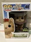 Funko Pop WIZARD OF OZ Cowardly Lion Flocked Gemini Exclusive 8 10 Condition