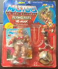 VINTAGE FLYING FISTS HE-MAN Masters of the Universe MOTU MATTEL - Detached Card