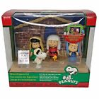 Peanuts Snoopy Nativity Scene Mini Figure Set Fold Out Christmas Play Stage 2013