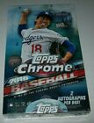 2016 Topps Chrome Hobby Box, Factory Sealed, Brand New, 2 Auto per Box