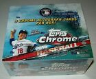 2016 Topps Chrome Jumbo Baseball Hobby Box, Brand New, Factory Sealed