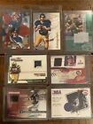 Lot Of 9 Cards Memorbelia Football Ty Law Autograph Topps