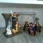 GORGEOUS Vtg Madame Alexander Manger Nativity Mary Joseph Three Kings Wise Men
