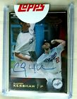 Clayton Kershaw Rookie Cards and Autograph Memorabilia Guide 17