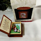 Hallmark Book Ornament 1996 Mary Had A Little Lamb Mother -Goose Series With Box