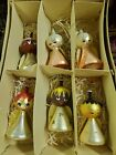 RARE Vintage Glass DIVERSE HOLIDAY ANGEL ORNAMENTS Made In Italy 1960S ERa