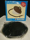 New Vintage Sevylor 304 Large Bellow Foot Air Pump for Inflation Deflation
