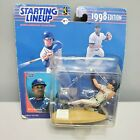 Starting LineUp 1998 Cleveland Indians Dave Justice New On Rough Card