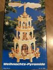Weihnachts Pyramid Christmas Windmill Nativity German Pyramide 7963 Excellent