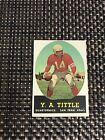 Top 10 Y.A. Tittle Football Cards 23