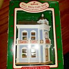 HALLMARK 1988 NOSTALGIC HOUSES AND SHOPS HALL BRO'S CARD SHOP # 5 IN SERIES