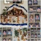 Vintage Fontanini Nativity Set Lot