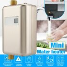 3000W Instant Hot Water Heater Electric Tankless On Demand House Shower Sink US