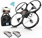 DBPOWER U818A HD+FPV UPGRADE QUADCOPTER DRONE WITH HD CAMERA NEW