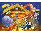 Wentworth Wooden Puzzle 50 large pieces Animal Friends Nativity