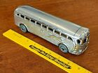 Vintage Die Cast Aluminum Greyhound Bus Realistic Toy Co