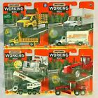 4x 2021 Matchbox WORKING RIGS NEW RELEASES