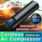 12V 150PSI Portable Wireless Air Pump Air Electric Tire Inflator Car Bicycle