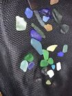 sea glass lot From Monterey Beach Rare Colors