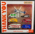 Matchbox 2020 Thank You Heroes Box Set Fire Police EMS Special Edition RARE