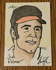 JIM PALMER 2012 Leaf Best of Baseball Sketch Card BALTIMORE ORIOLES (#1 1)