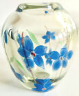 Scandinave Orrefors Edward Hald Art Glass Flower Graal