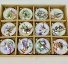 Collectible Trimsetter The 12 Days of Christmas Glass Ornament Set Complete NEW